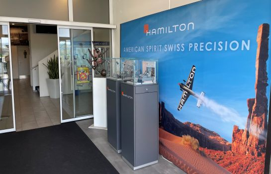 Empfang Airporthotel Grenchen