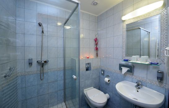 Bagno in camera Holiday Beach Wellness Hotel with Sauna Park