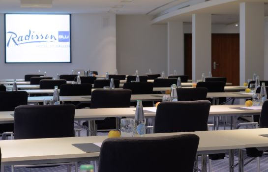Workshopruimte St. Gallen Radisson Blu Hotel