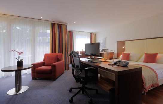 Junior-suite St. Gallen Radisson Blu Hotel