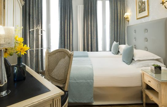 Chambre double (standard) Hotel Plaza Elysees