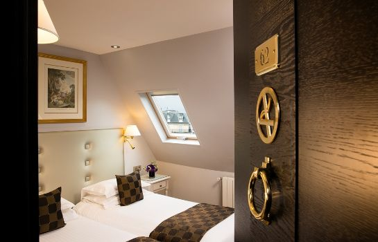 Chambre Hotel Plaza Elysees