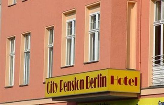 Außenansicht City Pension