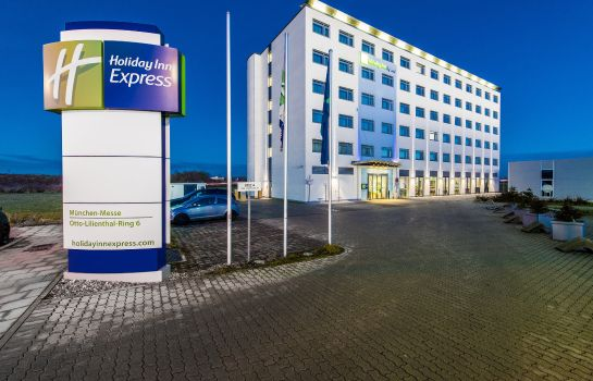 Vista esterna Holiday Inn Express MUNICH - MESSE