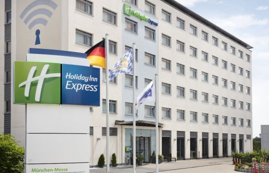 Außenansicht Holiday Inn Express MUNICH - MESSE