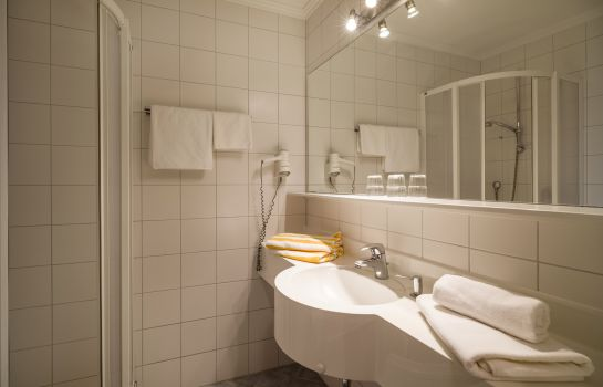 Bathroom Hotel-Pension Rotspitz