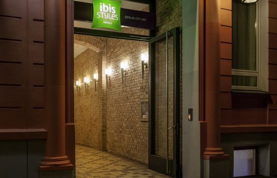 Exterior view ibis Styles Berlin City Ost