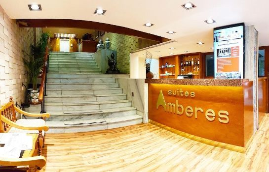 Reception Hotel Suites Amberes