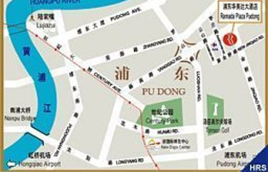 How to find us Ramada Plaza Pudong