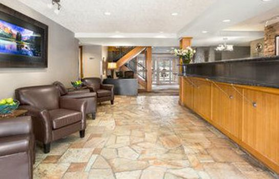 Hotelhalle RAMADA CANMORE