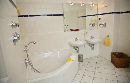 Bagno in camera HSH Hotel Apartments Mitte