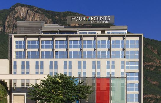 Außenansicht Four Points by Sheraton Bolzano