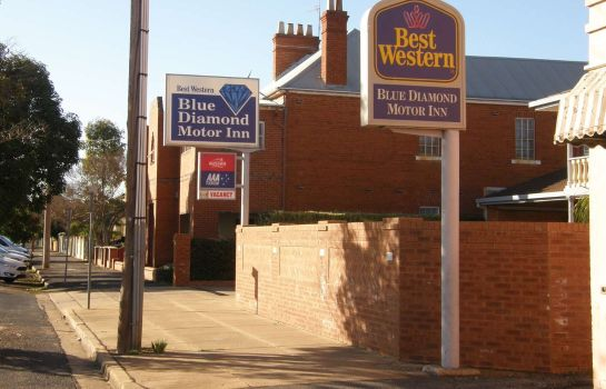 Vista esterna BEST WESTERN  BLUE DIAMOND MTR