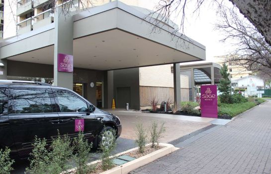 Exterior view Sage Hotel Adelaide