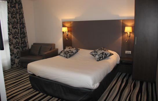 Chambre double (confort) Kyriad Saint-Quentin