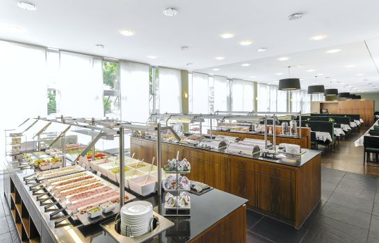 Breakfast buffet NH Düsseldorf City-Nord