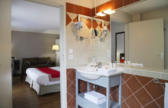 Badezimmer Appart''Hotel Odalys Les Floridianes Residence de Tourisme