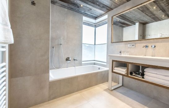 Bagno in camera Chalet Hotel Crychar