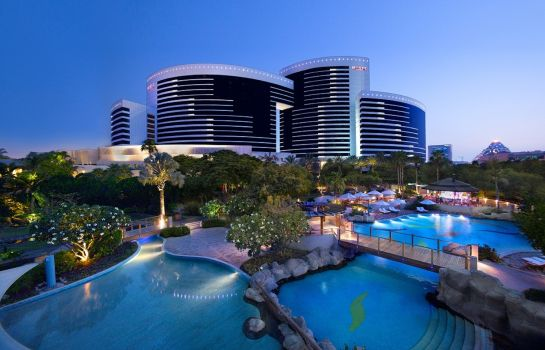 Tuin Grand Hyatt Dubai