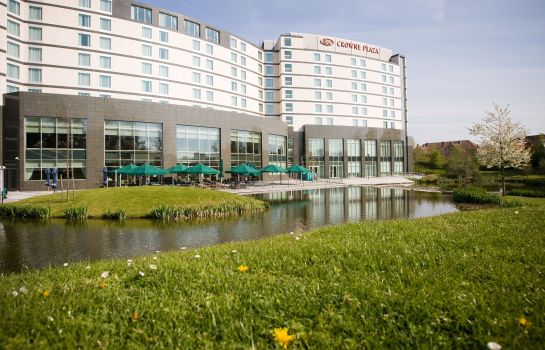 Vista exterior Crowne Plaza BRUSSELS AIRPORT