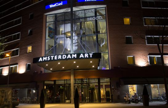 Exterior view WestCord Art Hotel Amsterdam