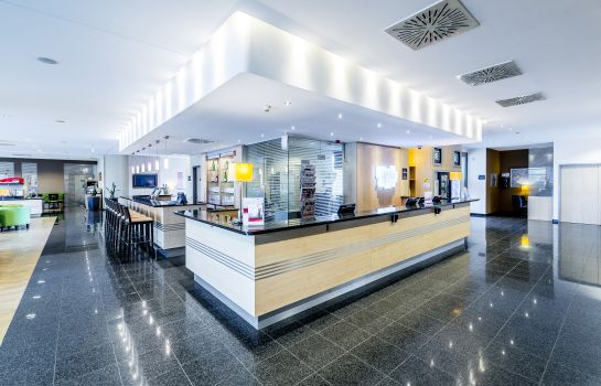 Recepcja Holiday Inn Express FRANKFURT - MESSE