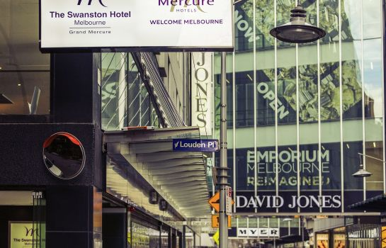 Vista exterior Mercure Welcome Melbourne