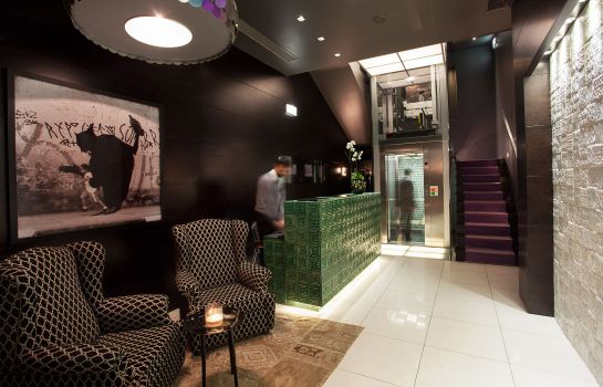 Reception Internacional Design Hotel