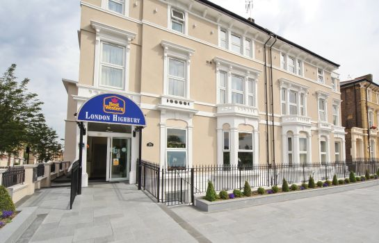 Exterior view Best Western London Highbury