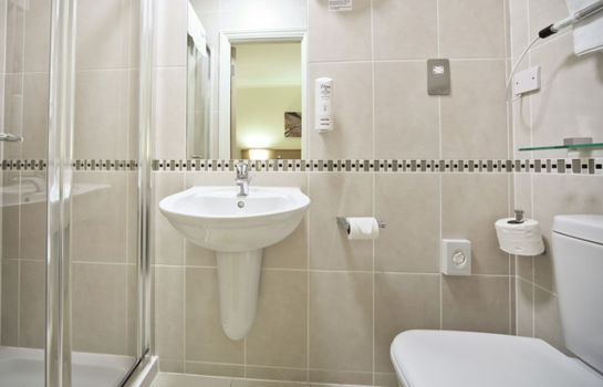 Bagno in camera Best Western London Highbury