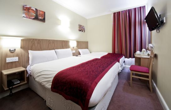 Four-bed room Best Western London Highbury