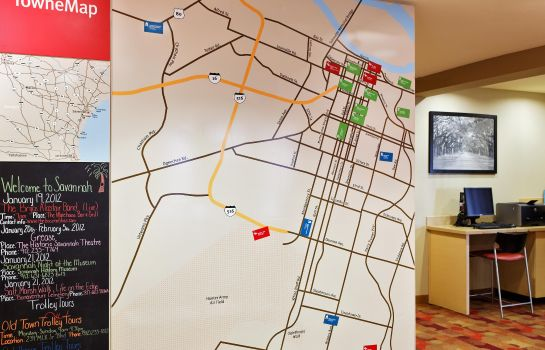 Info TownePlace Suites Savannah Midtown