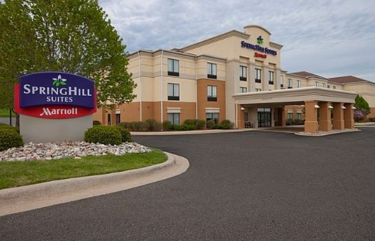 Vista exterior SpringHill Suites Grand Rapids North