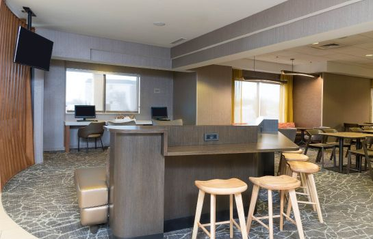 Vestíbulo del hotel SpringHill Suites Grand Rapids North