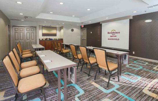 Conference room Residence Inn Bakersfield