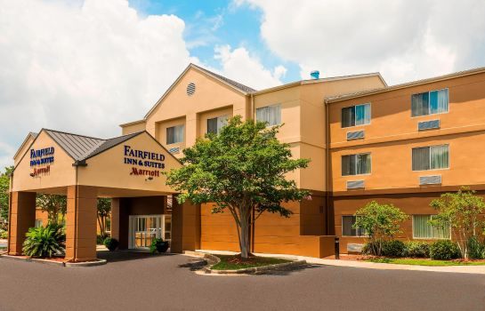 Vista esterna Fairfield Inn & Suites Mobile
