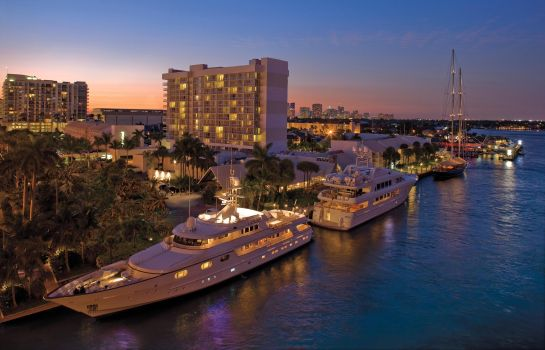 Exterior view Hilton Fort Lauderdale Marina