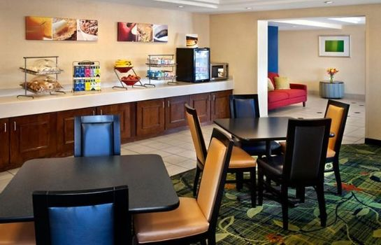Restaurante Fairfield Inn Manchester-Boston Regional Airport
