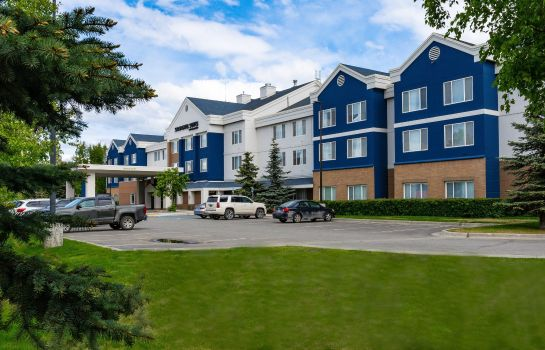 Buitenaanzicht SpringHill Suites Anchorage Midtown