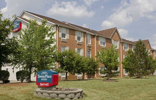 Vista exterior TownePlace Suites Indianapolis Keystone