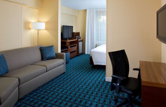Zimmer Fairfield Inn & Suites Orlando Lake Buena Vista in the Marriott Village