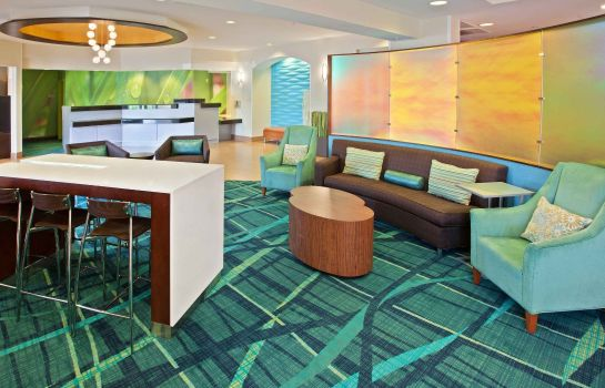 Hotelhalle SpringHill Suites Chicago Schaumburg/Woodfield Mall