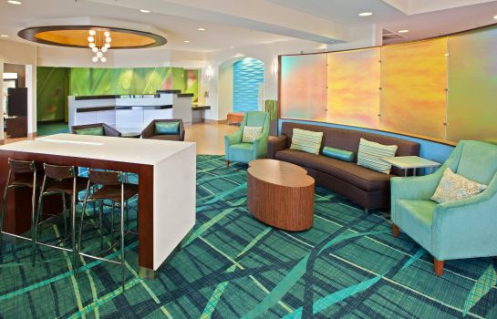 Lobby SpringHill Suites Chicago Schaumburg/Woodfield Mall