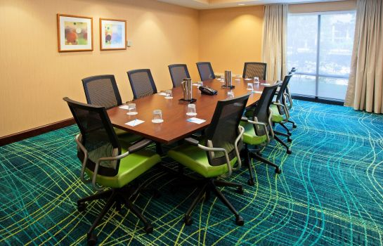 Conference room SpringHill Suites Chicago Schaumburg/Woodfield Mall