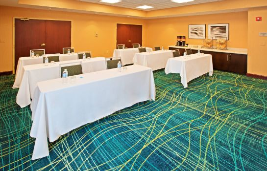 Sala de reuniones SpringHill Suites Chicago Schaumburg/Woodfield Mall