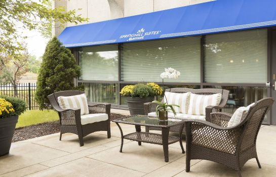 Widok zewnętrzny SpringHill Suites Chicago O'Hare