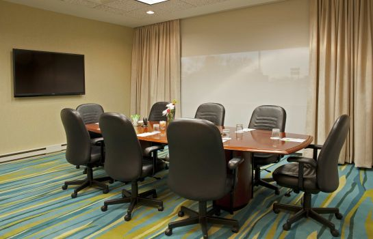 Conference room SpringHill Suites Chicago O'Hare