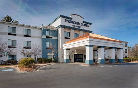 Exterior view SpringHill Suites Manchester-Boston Regional Airport