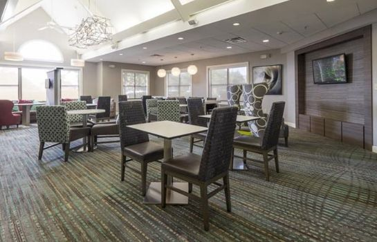 Lobby Residence Inn Columbus Worthington