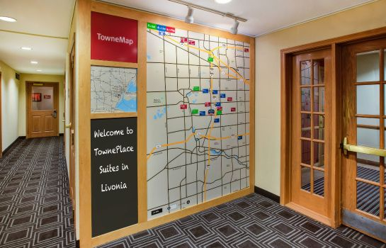 Information TownePlace Suites Detroit Livonia